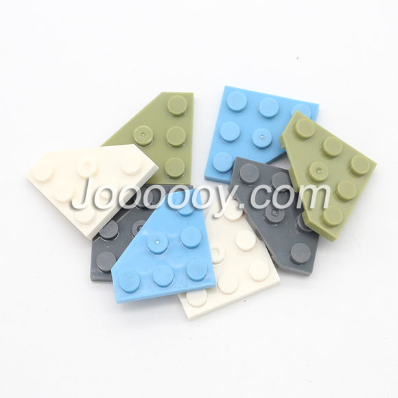 20 pcs 3*3 wedge plate MOC bricks