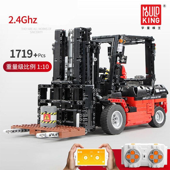 Mould King 13106 Forklift - Your World of Building Blocks