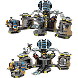 1807pcs Batcave Break-In 10636 Batman Movie Series 70909