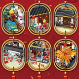 Chinese style series 610001 Spring Festival New Year's Eve Family Dinner