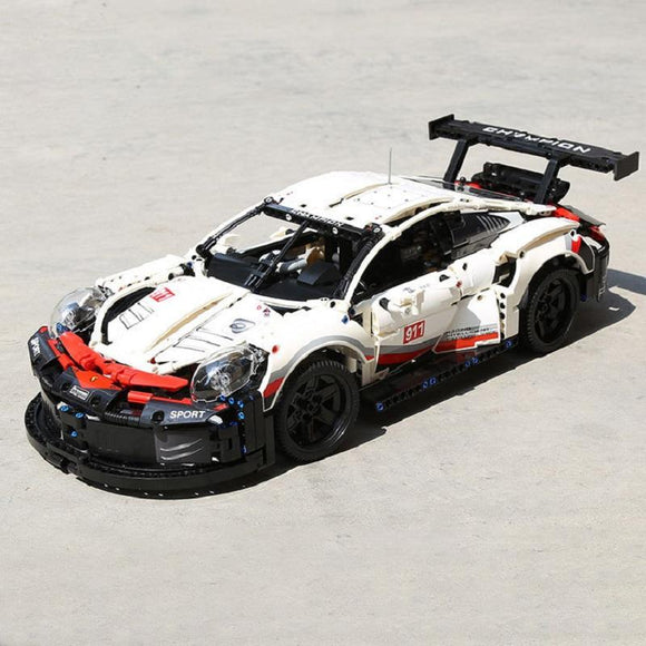 JISI 13387 Racing Car 911RSR - Your World of Building Blocks