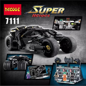 DECOOL 7111 The Batman Armored Chariot Tumbler - Your World of Building Blocks