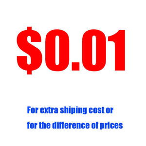 Extra Shipping Cost Or For The Difference Of Prices