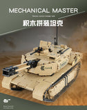 1276pcs Qihui 9801 Desert Eagle RC Main Battle Tank