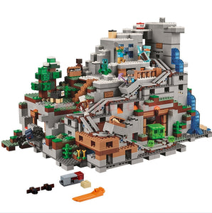 Miniecraft  The Mountain Cave 81085 My worlds Compatible with 21137