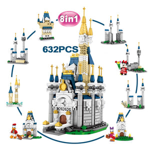 SY6584 8 IN 1 Disney Castle Princes