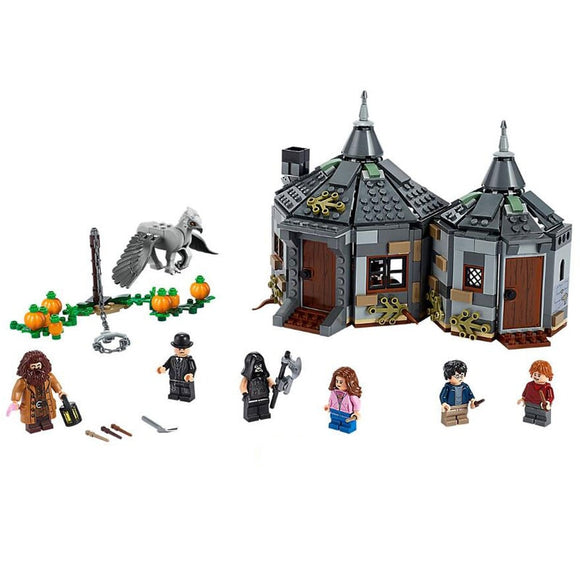 520Pcs Harry Potter Hagrid's Hut Buckbeak's Rescue