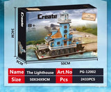 2433pcs PG12002 The Lighthouse