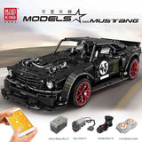 2943 pcs Technic Car Ford Mustang Hoonicorn  mouldking 13108