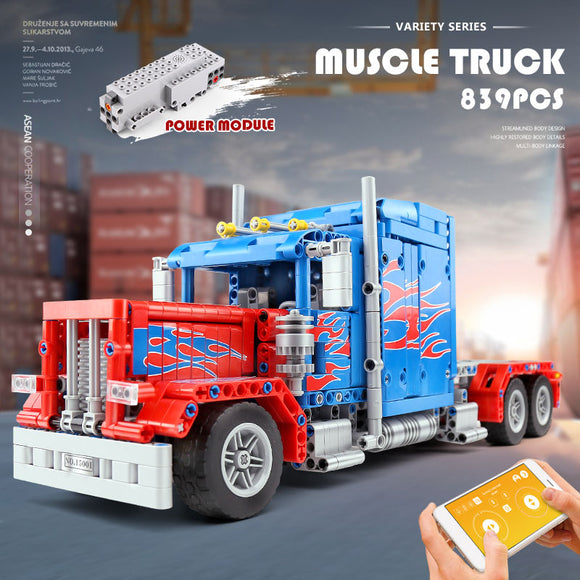 839PCS MOULDKING 15001 379 Peterbilt Truck Muscle Truck