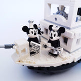 Disney Steamboat Willie Compatible with 21317 16062