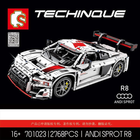sembo 701023 Technic Series Bricks  R8 1:10