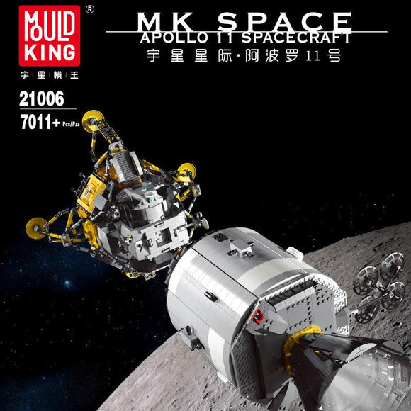 7018PCS MOULDKING 21006 Apollo 11