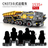 Sembo The Wandering Earth Military Transport truck Technic 107006-107009