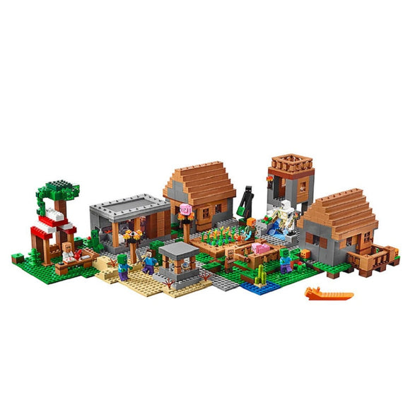 1600pcs Bela 10531 Minecraft The Village
