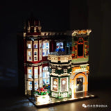 3050Pcs MouldKing 16005 Antique Collection Shop with LED
