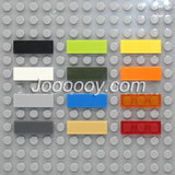 20 pcs 1*3 flat tiles MOC bricks