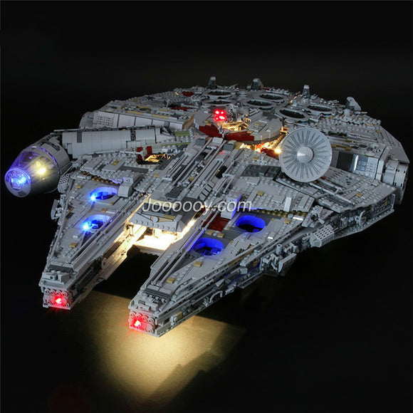 DIY LED Light Up Kit For Star Wars Millennium Falcon remote control