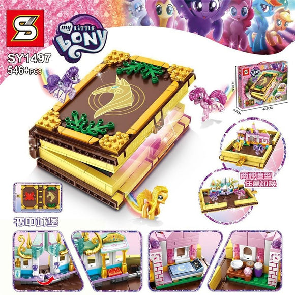546PCS SY1497 My Little Pony