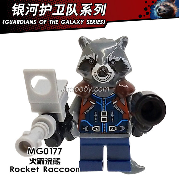 MG0177 Rocket Raccoon Minifigure