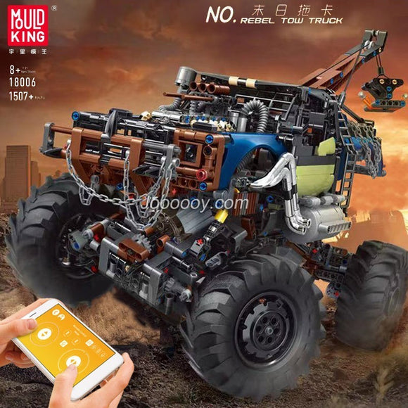 1507PCS MOULDKING 18006 Rebel Tow Truck