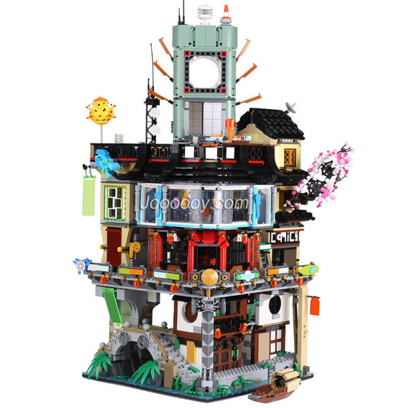 Queen 89049(06066) ninjago City Building Model Compatible 70620