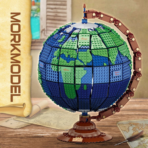 2420PCS MORK 031001 Earth Globe