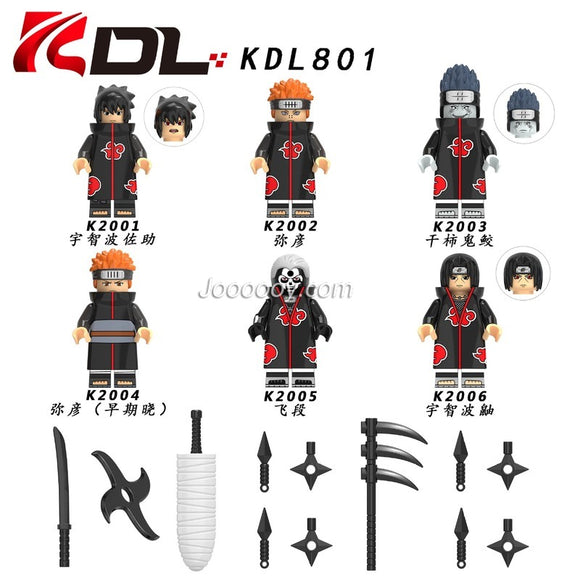 KDL801 Anime series minifigures