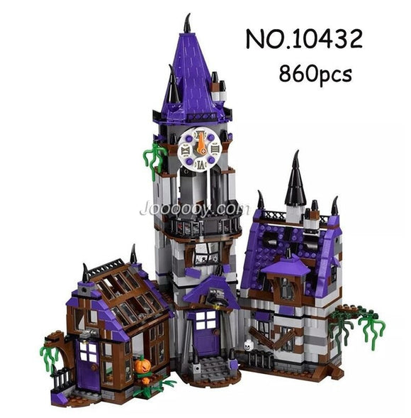 BELA 10432 10430 Scooby-Doo Mystery Mansion