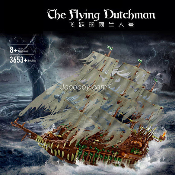 3653PCS Mould king 13138 The Flying Dutchman