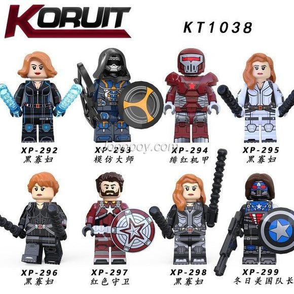 KT1038 Superhero series minifigures
