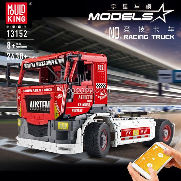 2638PCS MOULDKING 13152 Race Truck MkII