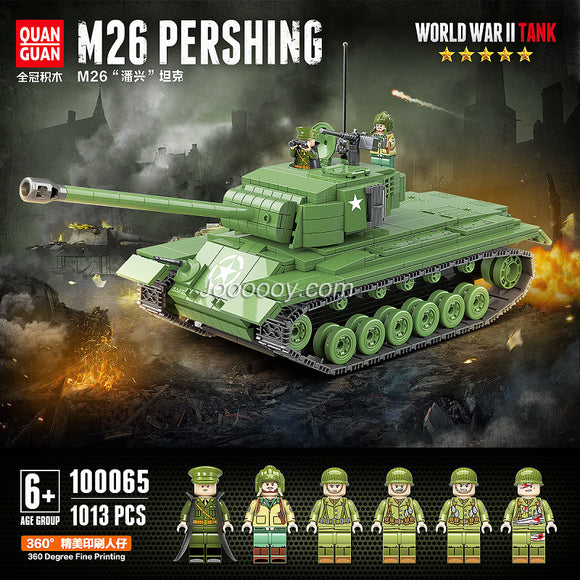 1013PCS QUANGUAN 100065 M26 Pershing