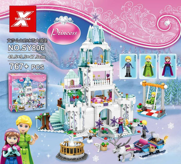 SY806 767PCS Princess Elsa's Snow Castle