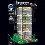 3495pcs HENGTAI 85016 Forest Villa A Tree in the House