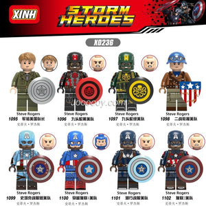 X0236 Captain America Minifigure