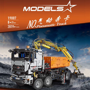 2819PCS MOULDKING 19007 Mercedes-Benz Arocs 3245