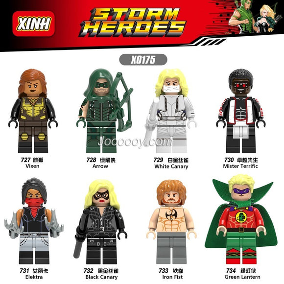 X0175 Superhero series minifigures