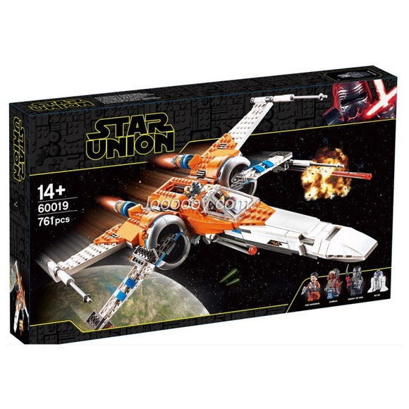 716PCS 60019 Poe Dameron's X-wing Fighter
