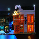 DIY LED Light Up Kit ForHarry Harry Potter:Diagon Alley 10217