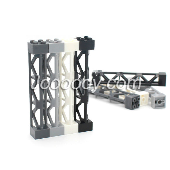 5 pcs 2*2*10 frame support MOC bricks