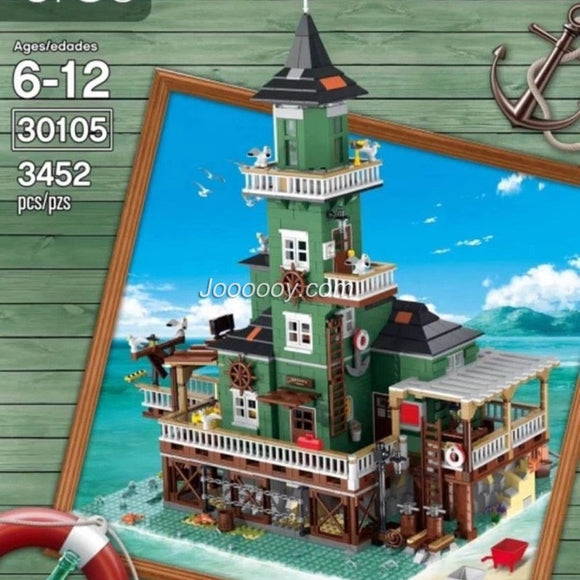 5123PCS 30105 The Lighthouse
