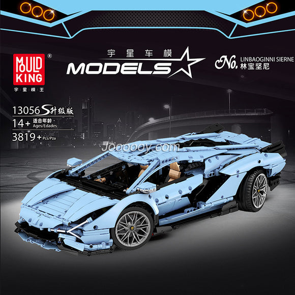 3632PCS MOULDKING 13056S Lamborghini Hyper ( Upgraded version)