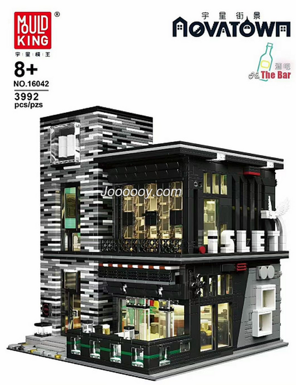 3992PCS MOULDKING 16042 The bar with lights kit