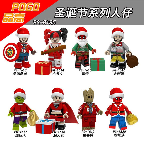 PG8185 Super Hero Series Merry Christmas
