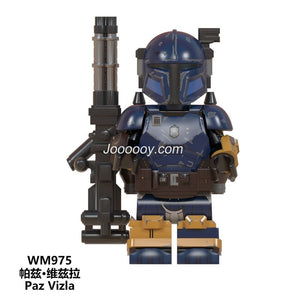WM975 Mandalorian series minifigures