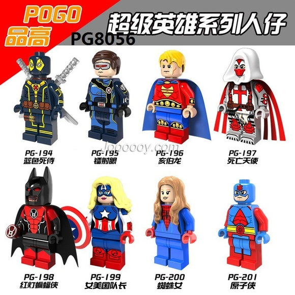 PG8056 Superhero series minifigures