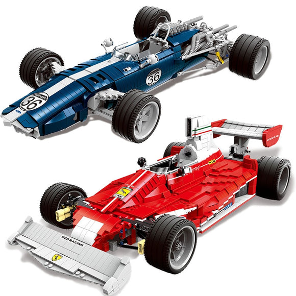 XINGBAO Ferrari Shadow Acoustic FIA Formula 1 Super Racers Speed