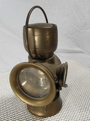 Carriage Lamp Brass