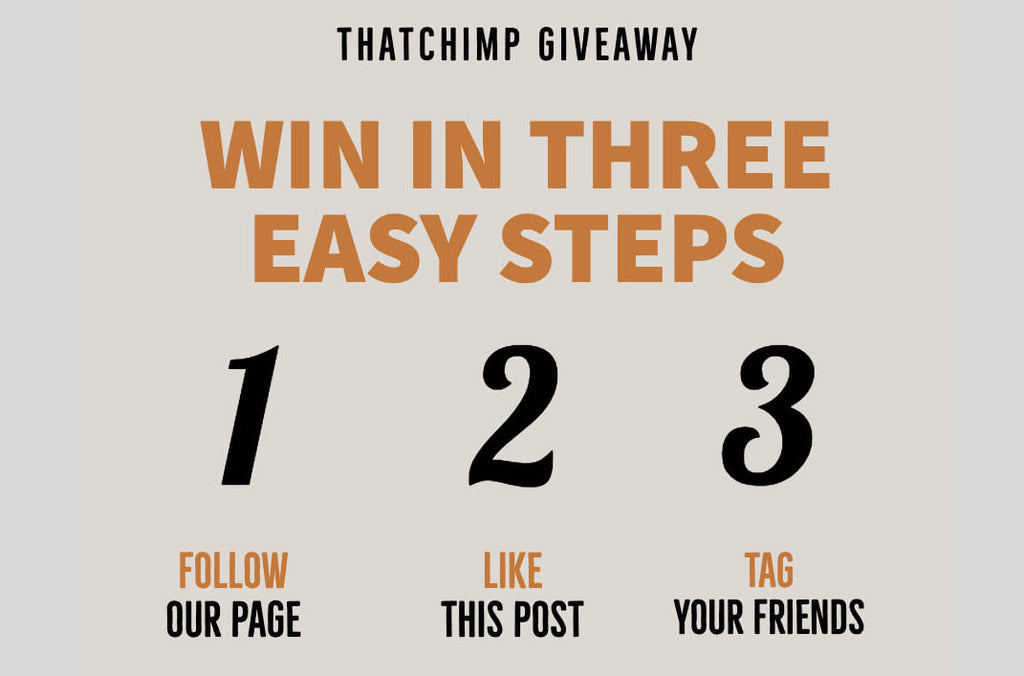 Announcing the Winners of the thatchimp giveaway